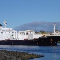 """MV Goliath"" departing Devonport,Tasmania.Thanks for the photo Bob., Девонпорт"