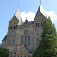 Sacre coeur Church in Arlon, Арлон