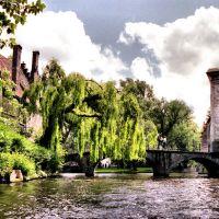 por los canales de Brujas2, Брюгге