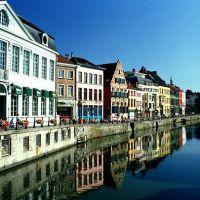Canal em Gant, Гент