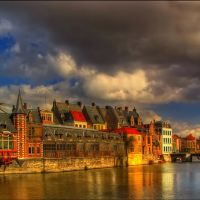 Old Fishmine, Gent, Belgium, Гент