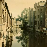 Gand, au mois dAoût de 1968, Гент
