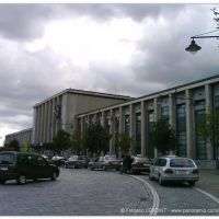 Orage sur la Gare de Mons, Монс