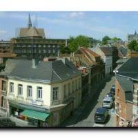 Mons – Croix-Place & Marché aux Poissons, Rue de la Petite Triperie et Rue de la Halle, Монс