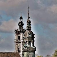 Beffroi et clocher Sainte Elisabeth à Mons, Монс