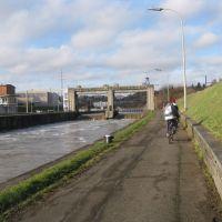 Le long de la Sambre à la sortie de Namur, Намюр