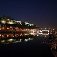 Namur, sa citadelle, le pont de Jambes et la Meuse, Намюр