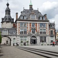 Namur   Ancienne bourse de commerce et  le beffroi  //  The old stock exchange and the belfry, Намюр