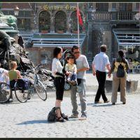touristes à Anvers, mai 2008, Антверпен