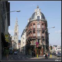 Kammenstraat / One Lieve Vrouwekathedral [Antwerpen 2007/04], Антверпен