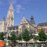 Groenplaats, Antwerp, Belgium, Антверпен