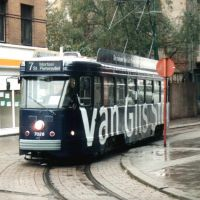 Wunderschöne Straßenbahn in Antwerpen, Антверпен