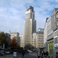 Antwerp, Belgium. De Boerentoren (Farmers Tower), Антверпен