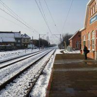 24/01/07 - Kortemark - treinstation perron, Бруже