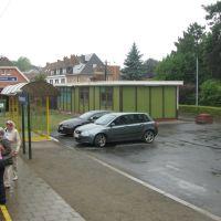 Station and parking Kortemark, Куртра