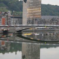 Liège. La tour administrative, Льеж