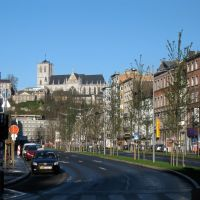 Liège: boulevard de la Sauvenière et Saint-Martin, Льеж