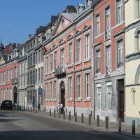 Liège: rue Hors Château: école dHôtellerie, Льеж