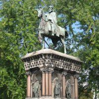 Liège: statue de Charlemagne, Льеж