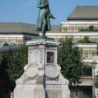 Liège: statue dAndré Modeste Grétry, Льеж