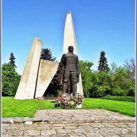 Паметник на загиналите добруджански  войни във втората световна война, Добрич