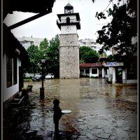 Часовниковата кула в стария град., Добрич