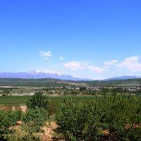 Поглед към Рила от село Драгодан, Боровец
