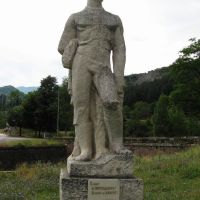Statuie in defileul Vratsata, Враца