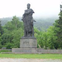 Враца - паметника  на Христо  Ботев   Vratsa monument of Hristo Botev, Враца