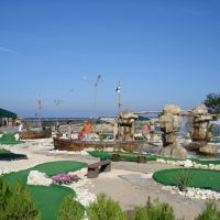 Minigolf Playground in Golden Sands, Varna, Золотые Пески