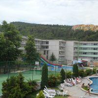 Вид с балкона отеля, Кранево