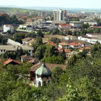 Поглед към Ловеч откъм квартал Вароша, Ловеч