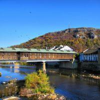 Ловеч-покритият мост, Lovech, Bulgaria, covered bridge, Ловеч