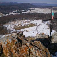 Peak Ispolin - Вр. Исполин, изглед към Узана, Михайловград