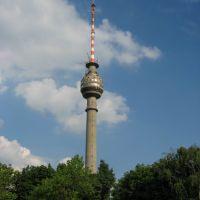 Turnul TV Ruse - 206 m inaltime (cel mai inalt din Balcani), Русе