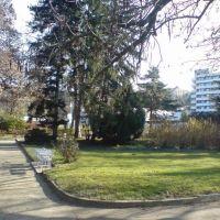 Паркът в град Сандански / Town Sandanski, Bulgaria - Park, Сандански