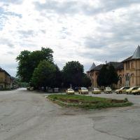 ЖП гара Свищов - отправна точка за веломарщрута Свищов до Белене, Свиштов