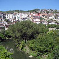 View from iron bridge, Велико Тарново