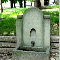 "Drinking fountain in street ""Vasil Levski"" / По ул. ""В. Левски"", Карлово"