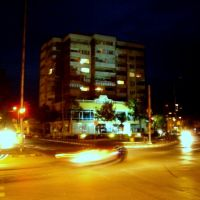 Asenovgrad. Night, Асеновград