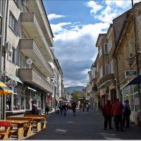 Main street / Главната улица, Асеновград