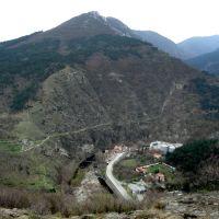 Изглед към р. Чая и Анатема, Асеновград