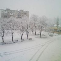 KAYACIK LİSE LYUBEN KARAVELOVDAN MANZARA KIŞ 2011, Димитровград