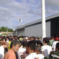 Estádio Coaracy da Mata Fonseca em dia de jogo, Арапирака