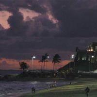 Anoitecer na Praia do Farol da Barra, Salvador, BA, Brasil, Витория