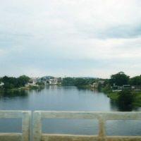 sobre a ponte do rio, Санта-Мария
