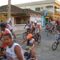 1º passeio ciclistico da pro bike, Санта-Мария