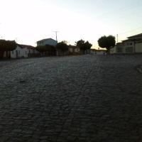 Praça, Salão Pa. Lino, na Rua Eugênio Lira em São Félix do Coribe, Санта-Мария