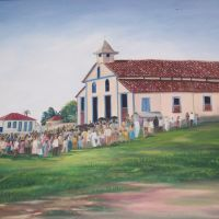 Antiga Matriz de Sant Ana (1870-1948)  Anápolis - GO - Brasil, Анаполис