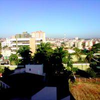Vista de Anápolis desde o edificio Santorini, setor Jundiaí, Анаполис